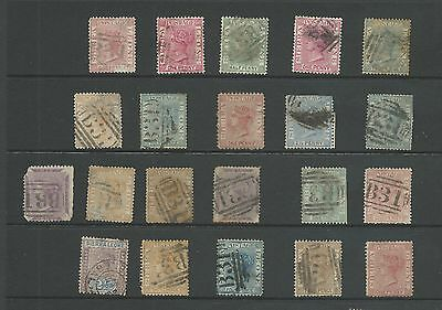 Sierra Leone Victoria collection 21 stamps