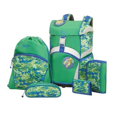 Sammies Ergonomic Schulranzen-Set 5tlg Jungle Adventure
