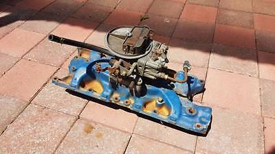 Ford Windsor intake manifold & Holley 500 carb