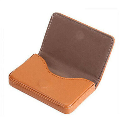 Arrival PU Leather Promotion Luxury Business Case Bag Wallet Name Card Holder