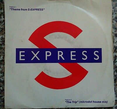 """7"""" Vinyl Record  Picture Cover S-Express Theme From S-Express"""