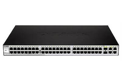 D-LINK DES-1210-52 48-Port Fast Ethernet WebSmart Switch, 2 Gigabit. New Box.