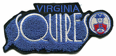 "1971-73 Virginia Squires Aba Basketball Hardwood Classics 6.25"" Chenille Patch"