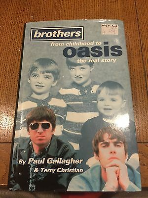Brothers: From Childhood to  Oasis  - The Real Story by Paul Gallagher, Terry Ch