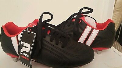 PATRICK rugby boots youth size 5 BNIB