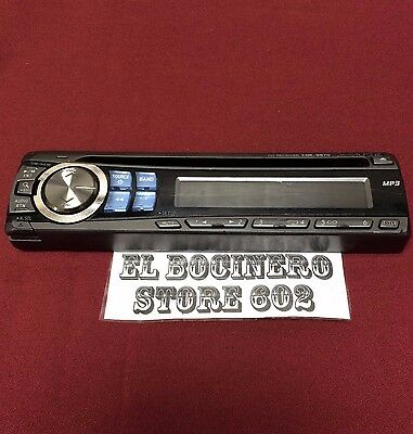 Alpine CDE-9870 ***STEREO FACEPLATE ONLY*** FM RADIO CD EQ