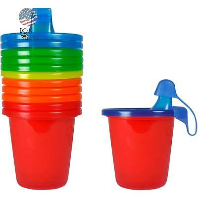 The First Years Take Toss Spill-Proof Sippy Cups, BPA-Free - 7 oz, 6 pack
