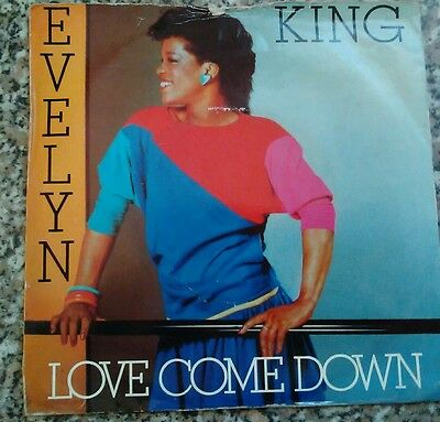 """Vinyl 7"""" Single - Love Come Down - Evelyn King - Rca249"""
