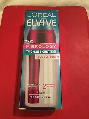 New still sealed- L'oreal Fibrology Thickness Creation Double Serum