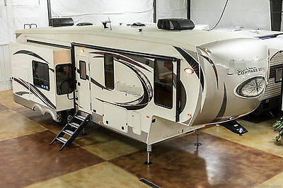 New 2017 Compass 298RLC Rear Living Room Luxury 3 Slide Out 5th Fifth Wheel