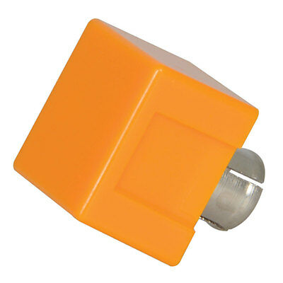 Dialight 304-1873 Yellow Square Cap Lens for use with 183 Indicators 30 pcs