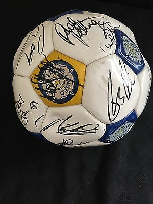 Leeds United Signed Football From 1980's