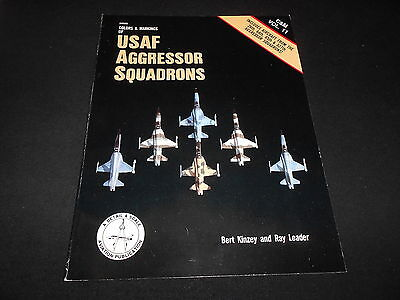 COLOR & MARKINGS 11, USAF AGGRESSOR SQUADRONS  by BERT KINZEY & RAY LEADER
