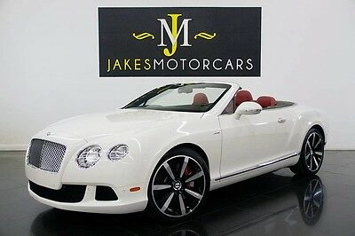 2015 Bentley Continental GT GTC W12 MULLINER ($250K MSRP)...ONLY 700 MILES! 2015 CONTINENTAL GTC W12, MULLINER, $250K MSRP, ONLY 700 MILES! WHITE ON RED!
