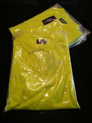YELLOW PREMIUM USA COTTON LOGO SHIRT - SIZE X-LARGE - Free Delivery Included
