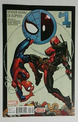 SPIDER-MAN DEADPOOL #1 2nd PRINT NM SECOND PRINTING