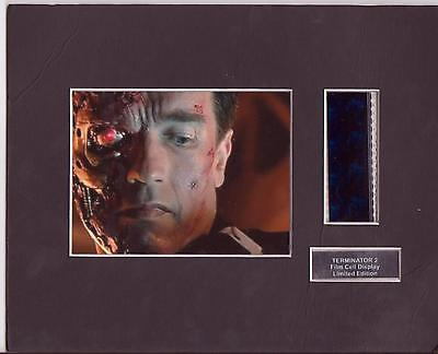 Terminator 2 Film Cell Display Limited Edition Very Rare