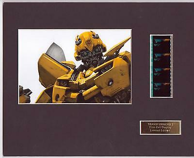 The Transformers 2 Film Cell Display Limited Edition