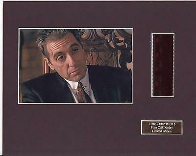 The Godfather 3 Film Cell Display Limited Edition Extremely Rare