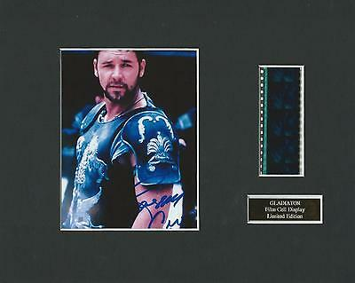 Gladiator Film Cell Display Limited Edition Very Rare