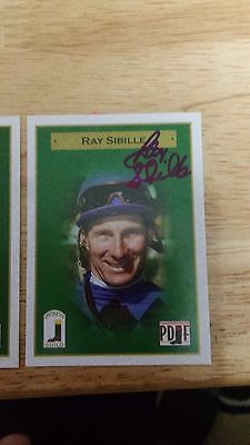 Ray Sibille hand signed 2015 card