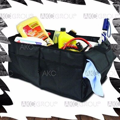 Multi Purpose Universal Large Fold Out Trunk Organizer Storage For Car SUV Truck