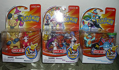 Pokemon 10th Anniversary 2005 3 New In Package