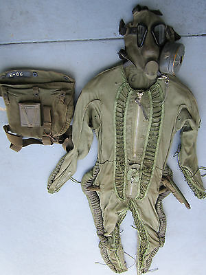 Soviet Military Airforce Mig Pilot Suit Bkk-6M