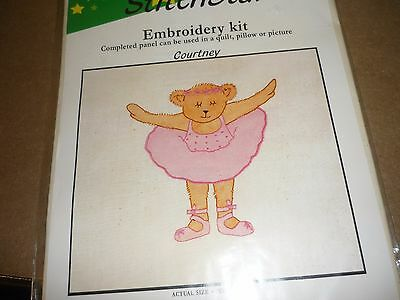 "Stitchstar - ""courtney""- Embroidery Kit- -New"