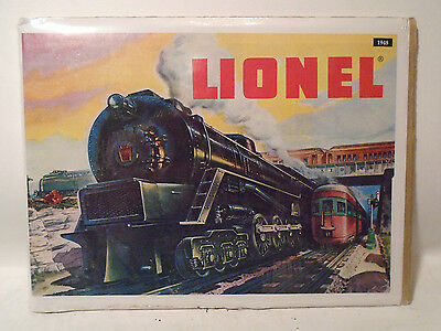 1948 Lionel Toy Train Catalog Reproduction  By Greenberg Publishing