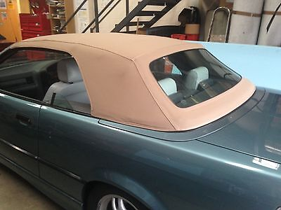 BMW E36 New Tan Mohair Hood Original Style
