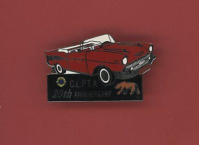 Clpta 20Th Anniversary Lions Club Pin - Bag46 57 Chevrolet Car