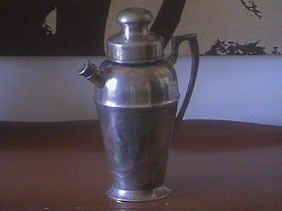 Vintage Bernard Rice's Sons Apollo EPNS Silverplated Cocktail Shaker - (c.1924)