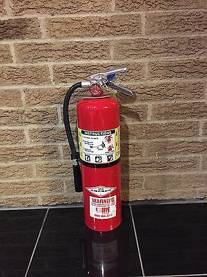 FIRE EXTINGUISHER 10lb 10# ABC NEW CERT TAG (Nice)