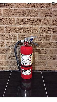 FIRE EXTINGUISHER 5lb 5# ABC NEW CERT TAG NICE