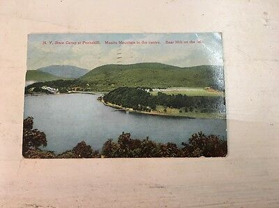 Collectible Postcard: NEW YORK STATE CAMP AT PEEKSKILL
