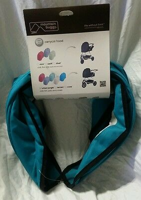 Mountain Buggy Carrycot Hood - Urban Jungle - Ocean