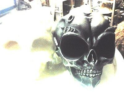 Big Eyed Alien Skull Mold Latex for cement , Plaster even wax