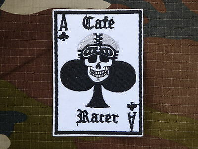D131 ECUSSON PATCH THERMOCOLLANT CAFE RACER customs hot rod choppers rockabilly