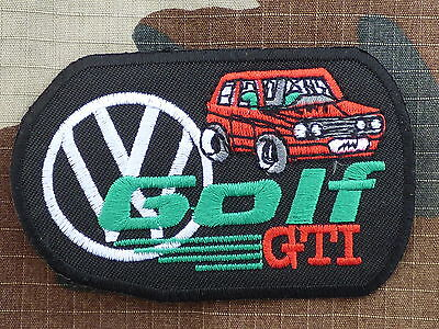 A213 ECUSSON PATCH THERMOCOLLANT aufnaher toppa GOLF GTI 1 volkswagen vw