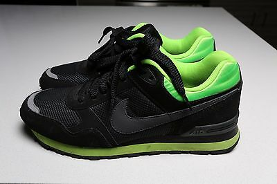 Nike Force Athletic Shoes Black Green 2012 386156-007 Mens Size 10 Excellent