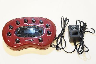 LINE6 POD XT Amp Simulator Multi Effects w/ 3 MODEL PACKS installed World Ship