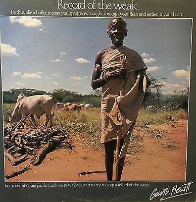 GARTH HEWITT Record Of The Week Tear Fund TF1001 + Booklet