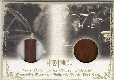 Harry Potter Memorable Moments Double Prop Card DP2
