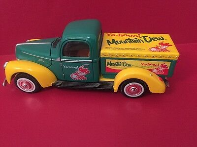 Golden Wheels Mountain Dew 1940 Ford Pick Up Delivery Truck Diecast