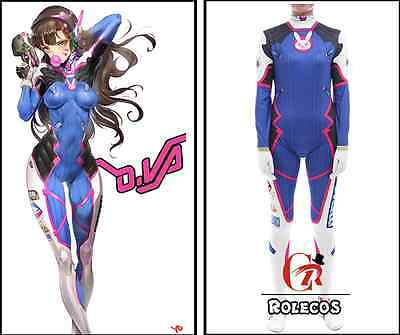 OV Overwatch Dva Cosplay Clothes Mech Driver Cosplay Collection