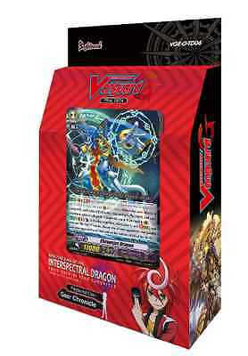 """Cardfight Vanguard """"G-Trial Deck Rallying Call of The Interspectral Dragon"""""""