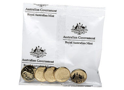2016 -2 dollar coin -1  bag of 5 Uncirculated Commemorative Changeover Coins