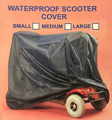Elasticated Waterproof Mobility Scooter Cover
