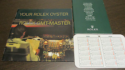 Rolex GMT Master Booklet Set  2005/2006 4tlg. TOP